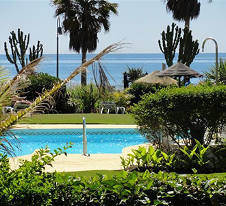 Beach properties in Costa del Sol area