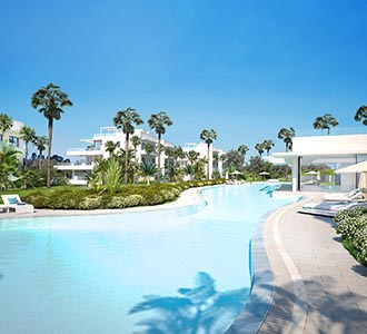 Luxury apartments in Costa del Sol area